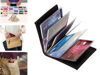 Wonder Wallet Amazing Slim RFID Wallets As Seen on TV Black Leather BRAND NEW!