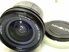 Minolta Maxxum 24mm f2.8 AF - - -- for Sony A mount SLR A58 a57 a68 a37 cameras
