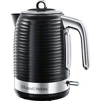 Russell Hobbs 24360 Inspire Electric Rapid Boil Jug Kettle 1.7 L, Black & Chrome