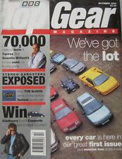 Top Gear 10/1993 No 1 featuring TVR Griffith, Corvette, Porsche, Ferrari, Toyota