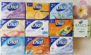 DIAL***2 Bars***SOAP>>>U chOOse Scent(s)<<<3.2 oz/90 g~~~BRAND NEW~~~SEALED