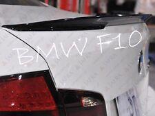 BMW F10 5er M Performance Stil Heckspoiler Spoiler Lippe ABS
