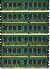 12GB (6x2GB) Memory ECC Unbuffered For Dell Precision T3500 DDR3-1333MHz