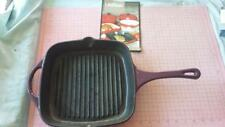 Crofton Cast Iron Griddle pan.house,cooking,camping,outdoor,tools,garden,food.