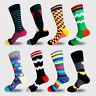 High Quality Mens Sports Cotton Sock Colourful Skateboard Fashion Long Sock 9-12
