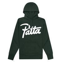 Patta Script Logo Hooded Sweater XS Green TD097 ii 14