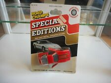 Road Champs Special Edition Chevrolet Corvette in Red on Blister