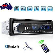 Car Stereo Radio Audio MP3 Player Bluetooth SD USB FM AUX 1 DIN Remote 4x60W AU