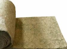 More details for green natural jute hanging basket liner 1m 2m 10m full roll 100cm wide plant pot