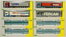 TRIX HO 24507 4x FS ITALIAN L'AUTOSTRADA VERDE WAGONS & LORRIES MINT BOXED