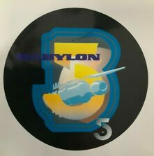 Babylon 5 Prototype Logo Used In Early Production On Glossy Paper