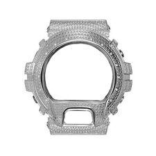 Casio G-Shock DW-6900 Stainless Steel Bezel Cover Watch 14 DIAMOND stone