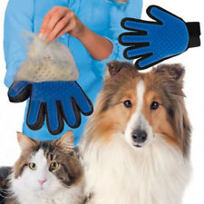 Brush Pet Hair Comb Silicone Dog Cat Grooming Massage Soft Bath Shedding Glove