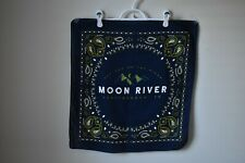 Moon River Music Fesival Drew Holcomb Chattanooga, Tennessee Navy/Yellow Bandana