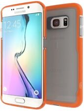 Gear4 Samsung Galaxy S6 Edge D30 IceBox Shock Slim Light Case Cover Clear/Orange