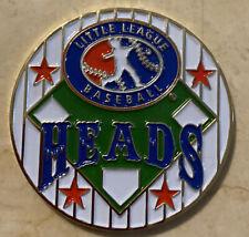 White Little League Baseball Umpire Flip Coin