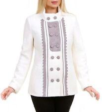 Cappotti e giacche da donna bianchi in misto lana
