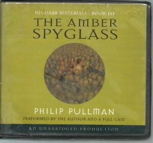 THE AMBER SPYGLASS by PHILIP PULLMAN~UNABRIDGED CD AUDIOBOOK