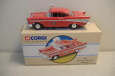 ~CORGI~97397~CHEVROLET BEL AIR FIRE CHIEF~PENSACOLA / HUDSON KS~