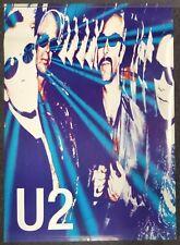 U2 Vintage Poster Livewire Uk Band Photo
