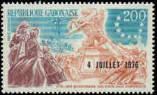 1976 Gabon #C181-C183, Complete Set(3), Never Hinged