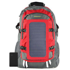 RED SolarGoPack Solar Power Backpack / 10k mAh battery / 7-Watt Panel