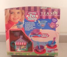 Vintage 1994 Kenner Littlest Pet Shop Tea Party Set NIB
