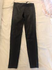 Ralph Lauren. Leland Lambs Leather Leggings. Stretch Navy. Size US 6. UK 10 BNWT