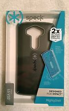 Speck MightyShell Case Cover for LG V10 - Black Gray New Fast Free Shipping