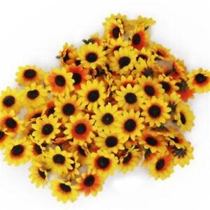 10X Cute Artificial Chrysanthemum Daisy Silk Flower Craft Home Party Decor