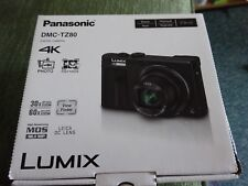 NEW.Panasonic LUMIX DMC-TZ80EB  Digital Camera - Black.4K.video+ 4K SD card16GB