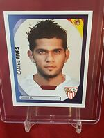 Dani Alves Sevilla Barcelona 1st Champions League 2007/08 Panini Rookie Sticker