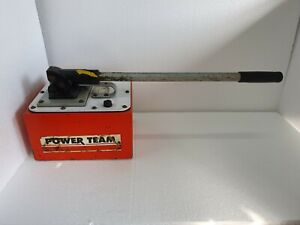 SPX Power Team P460 B Hydraulic Hand Pump, 2 Speed, 10000 PSI, 2.5 Gallon Tank