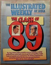 The Illustrated Weekly of India 7 Aug 1988 The Clash 89