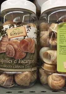 Lot Revendeur Destokage Palettes/Solderie De 3 Grandes Boites Escargots Vide