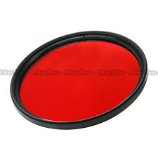 55mm Red Color filter Lens For Sony 85mm 100mm F2.8 Macro DT 18-55mm F3.5-5.6