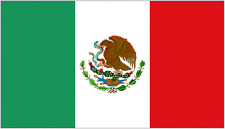 More details for 8' x 5' mexico flag mexican giant extra large flags funeral coffin drape