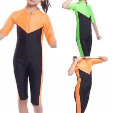 Muslim Kids Girls Islamic Modest Swimwear Full Cover Swimming Costume Swimsuit