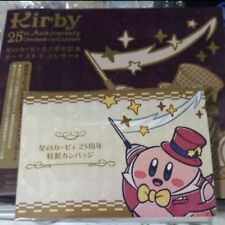 Kirby 25th Anniversary Orchestra Concert CD Blu-ray with Original Badge NEW F/S