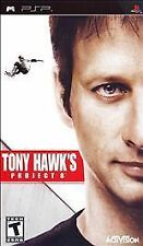 Tony Hawk's Project 8 UMD PSP COMPLETE SONY PLAYSTATION PORTABLE GAME