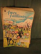Ames vaillantes, 29 bandes dessinées anciennes, des  années 1950 french antique