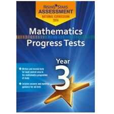 Rising Stars Maths Progress Tests Year 3 New Curriculum  CD-ROM
