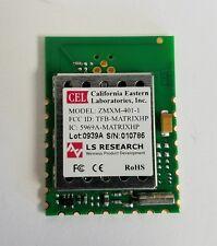 new ZigBee ZMXM-401-1 Trace Antenna 802.15.4 Matrix PCB Transceiver Module 100mW