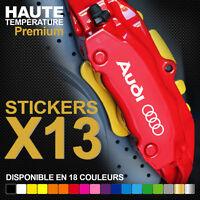 Stickers autocollants adhésifs pour étrier de frein - Audi TT RS A3 A4 S-line