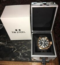 TW Steel Watch  Canteen Watch Rose Gold Leather