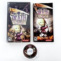 Death Jr. (Sony PSP, 2005) Complete Excellent Condition Tested & Works