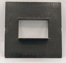 Rare Graflex #7a or 9a Diaphragm Back - 2 5 x 7 Exposures On 8x10 Century Camera