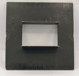 Rare Graflex #7a or 9a Diaphragm Back - 2 5 x 7 Exposures On 8x10 Century Camera