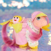 My Little Pony Wear OVERALLS RAG DOLL POCKET PAL + BABY SWEET STUFF G1 MLP BA974