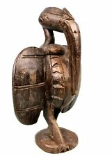 Art Africain Tribal - Ancien Calao Senoufo - Senufo African Bird - 25,5 Cms ++++